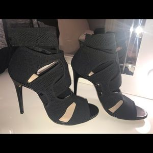 Brand new Zara woman knit open toe heels